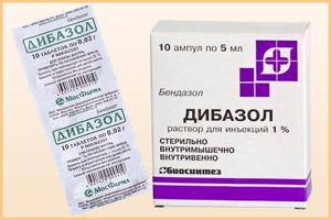 Лекарство Дибазол