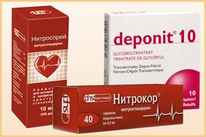 Препараты аналогичные Нитроглицерину