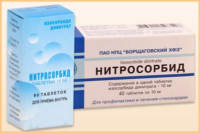 Инструкция к препарату «Нитросорбид»