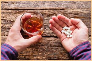 Лекарство вместе с алкоголем
