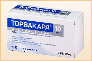 Таблетки Торвакард
