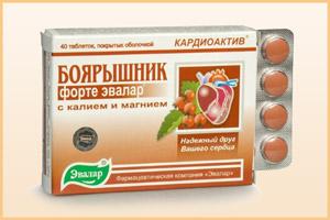 Препарат Боярышник-форте